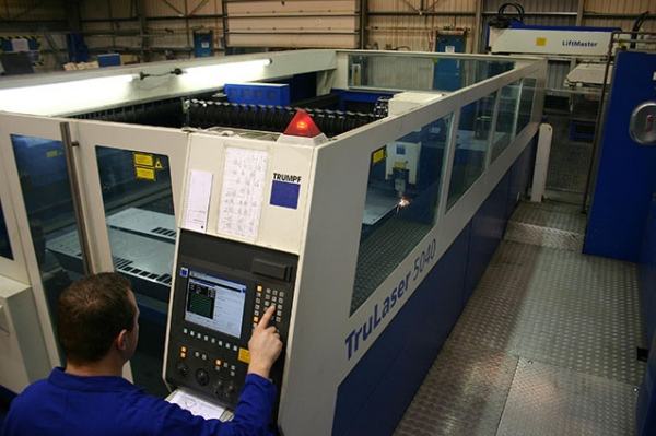 Laserfab - The Guttridge specialist sub-contract manufacturing service