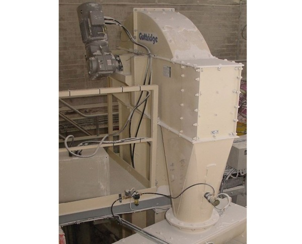 Screw Conveyors and Bucket Elevators Defend Against Chemical Lime