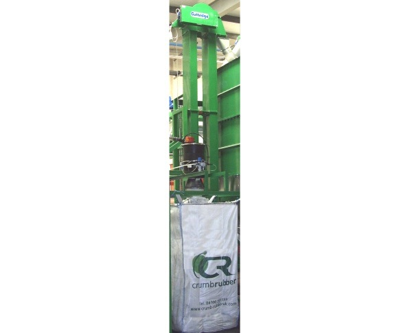 Bucket Elevators from Guttridge Give Old Tyres New Life