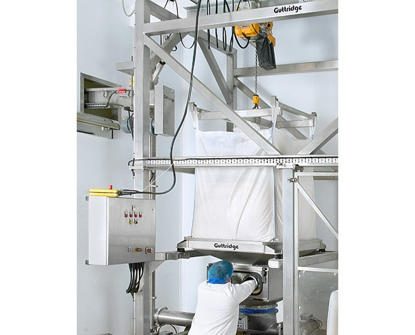 Bulk Bag Discharge System Brings 40 Fold Improvement