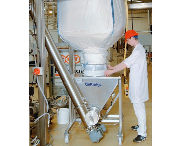 Bulk Bag Discharger From Guttridge Helps Improve Production System