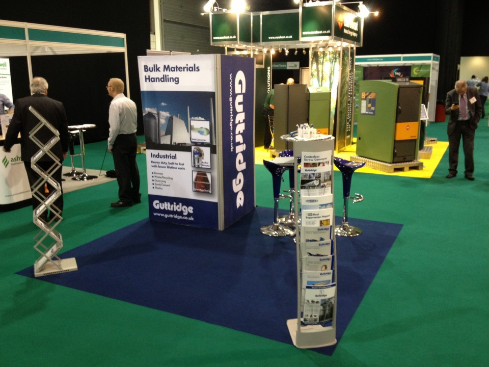 Visit Guttridge on stand G16 at EBEC - European Bioenergy Expo & Conference 2012