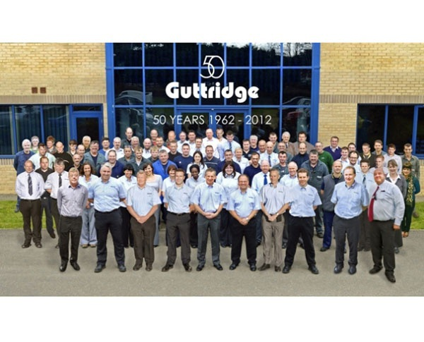 2012 - A tremendous year for Guttridge