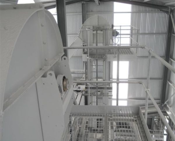Elevators and Conveyors for Handling Limestone and Aggregates Supplied to Kilwaughter Chemical Company