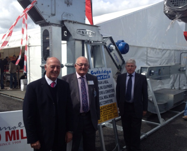 Guttridge Equipment on display at the Balmoral Show in Lisburn, Northern Ireland