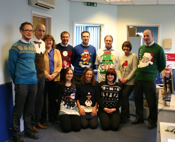 Christmas Jumper Day - to help raise money for Save The Children