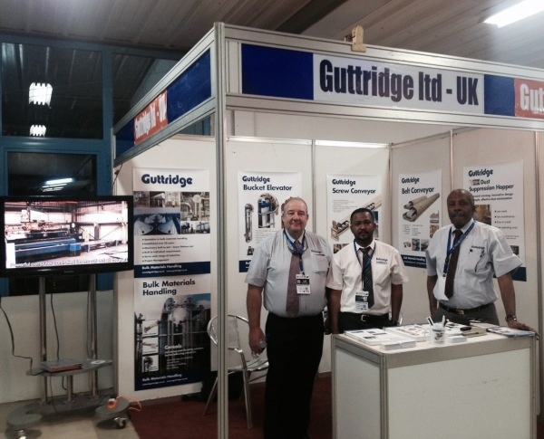Guttridge exhibit at the International Fair of Khartoum