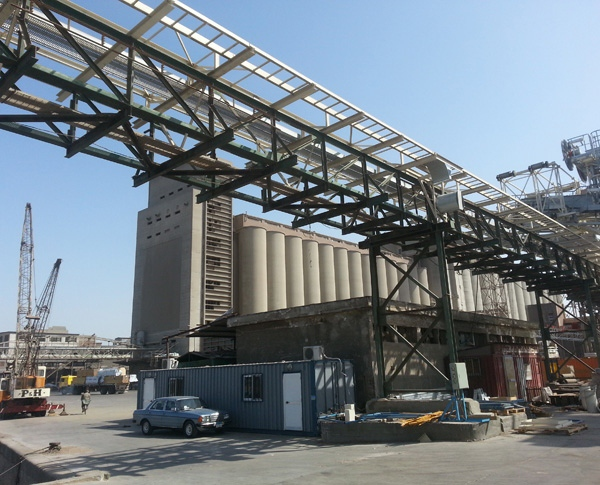 Guttridge local MENA support leads to the supply of grain handling systems to one of Egypt's largest grain importers