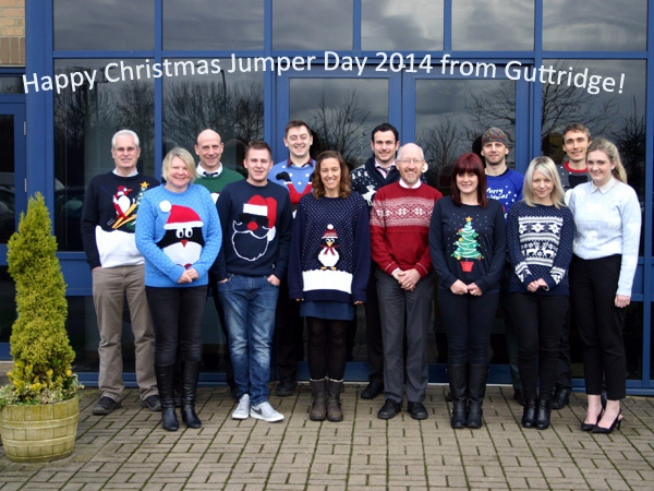 Christmas Jumper Day at Guttridge in aid of Save the Children