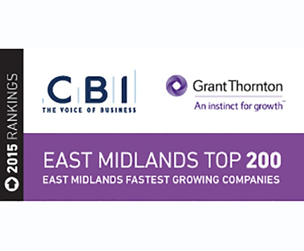 "Guttridge in the ""East Midlands Top 200"" for the second year running!"