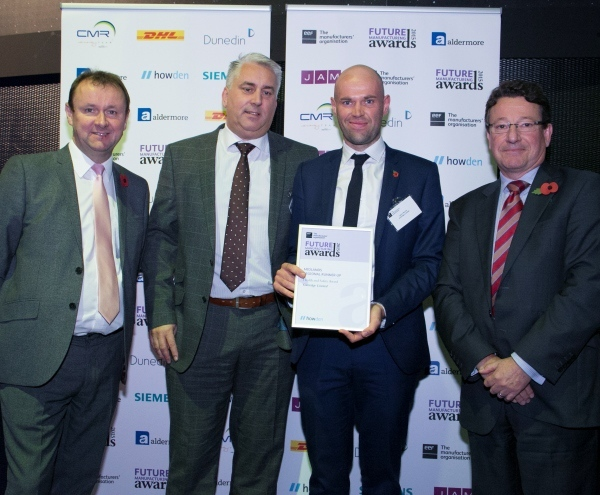 Guttridge named runner-up for prestigious regional business award