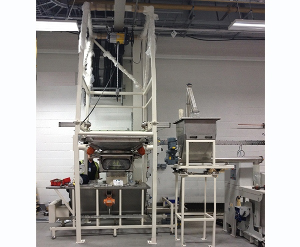 Case Study - Bulk Bag Discharge System