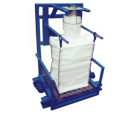Bulk Bag Filling Equipment, Food & Chemicals Handling