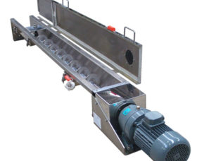 Troughflo U-Trough Screw Conveyor, Food & Chemicals Handling