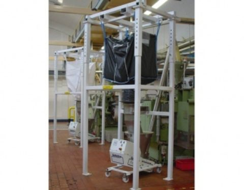Tea production gets a refreshing efficiency boost from bulk bag dischargers