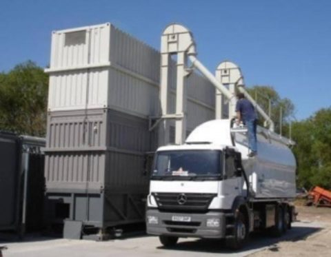 Mobile plant brings efficiency to wood fuel processing