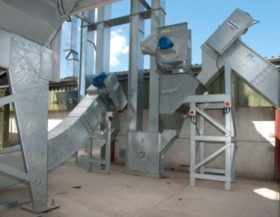 Guttridge supply Carier™ Grain Handling Equipment for new Grain Handling Project., Screw Conveyors, Dischargers