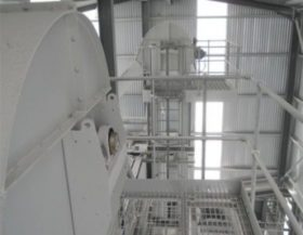 Guttridge supply equipment for Kilwaughter Chemical Company, Chain Conveyors & Intakes