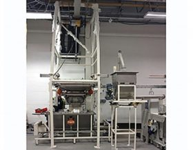 Case Study - FIBC Handling Silica Sand, Food Grade Hygienic: Conveyors Elevators Feeders