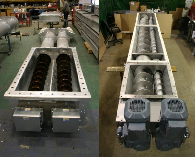 Custom Heavy Duty Screw Conveyor