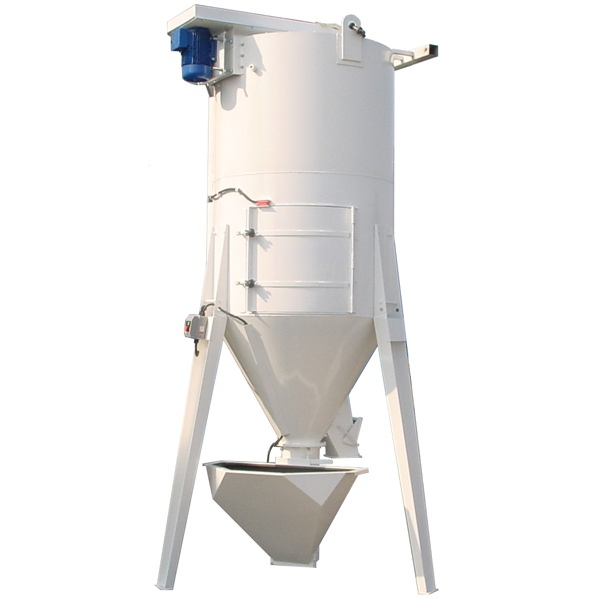 Vertical Mixers and Live Bins